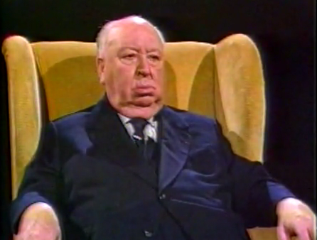 ... an interview with legendary director Alfred Hitchcock. The show was then ...